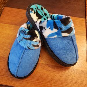 Vera Bradley Coastal Blue Slippers Size S - NEW!